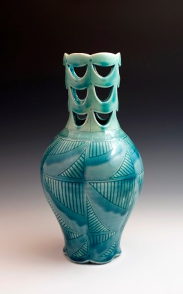 2.Vase-Blue