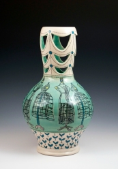 Vase w/ Dress Forms